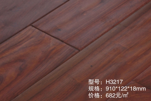 H3217圆盘豆实木地板