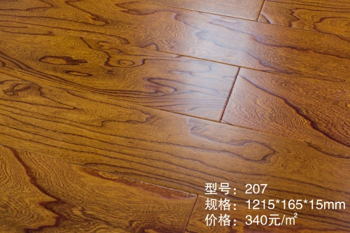 207榆木多层木地板