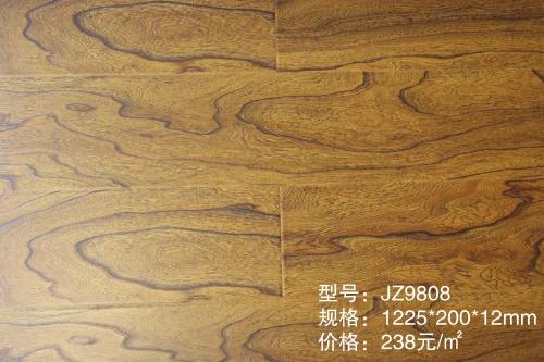 JZ9808榆木同步强化木地板